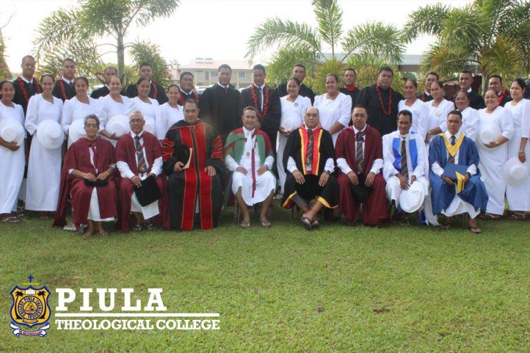 Graduation 2019 with staff