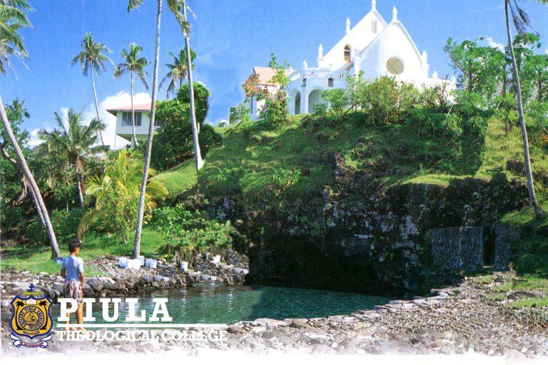 Piula Cave Pool and Chapel