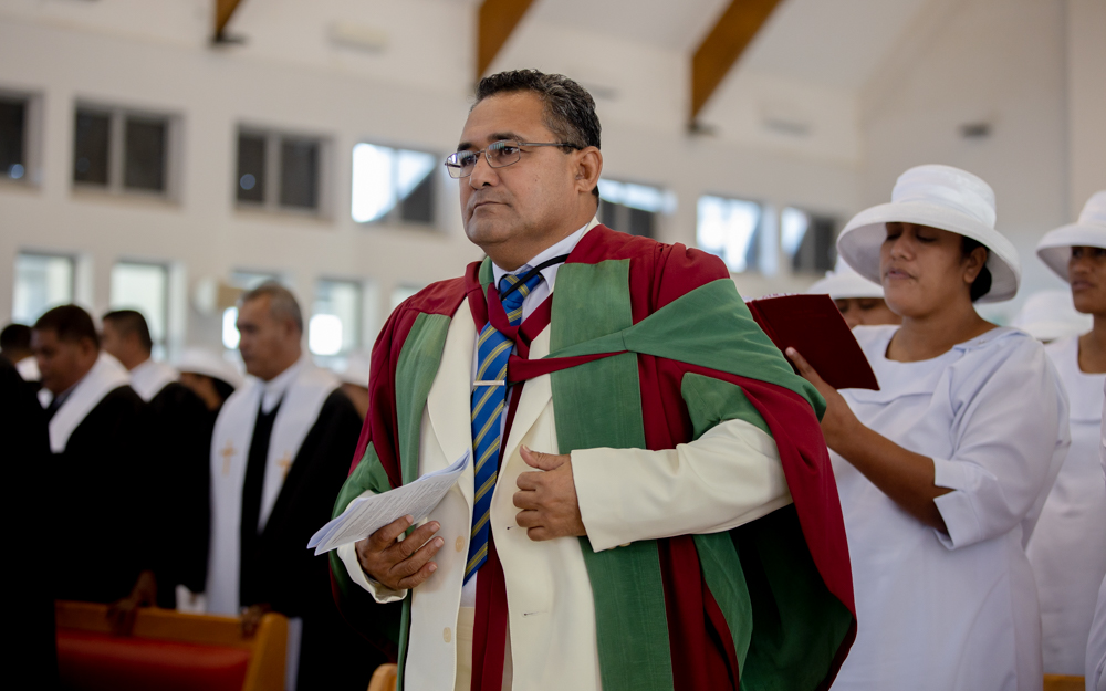 Revd Prof. Dr Mosese Mailo